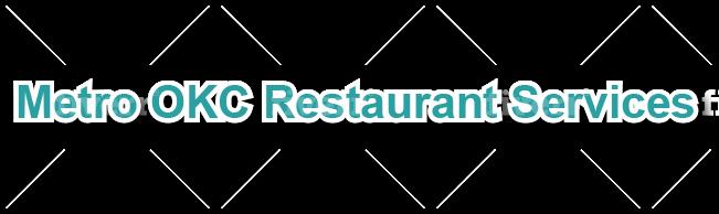 Metro OKC Restaurant Services Logo